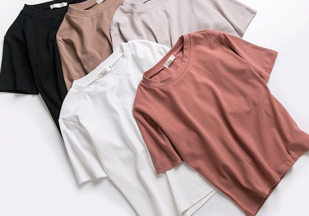 New-T-shirts-Women-2020-Vogue-Vintage-Tshirts-Cotton-Women-O-Neck-Short-Sleeve-Best-Friends